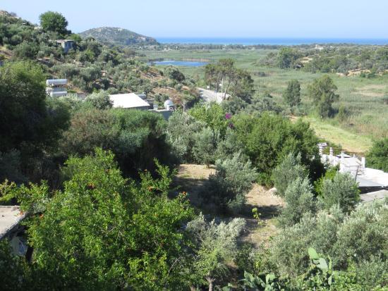 Hotel Sema: Blick vom Balkon