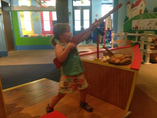 Pensacola Children's Museum : Downstairs