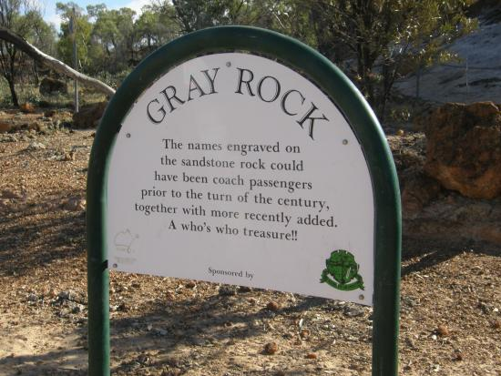 Barcaldine, Australia: Gray Rock, Cobb & Co stopover