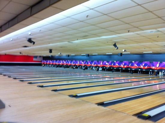 AMF Bowling Center: Miles of lanes