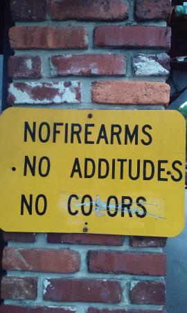 Daytona Brickyard : it really means no colored