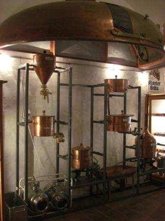 Frankisches Brauereimuseum, Bamberg: Maquinário antigo