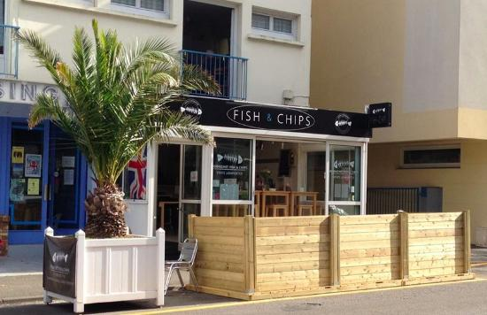 Pornichet Fish & Chips: Front view