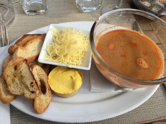 Soup - Picture of Potiniere Du Palais, Cannes - TripAdvisor