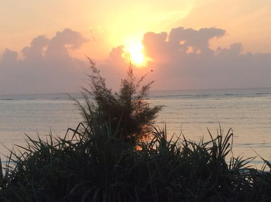 Zanzibar Retreat Hotel: Sunrise at the retreat