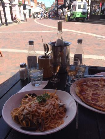Grills & Greens: Spaghetti d'enzo