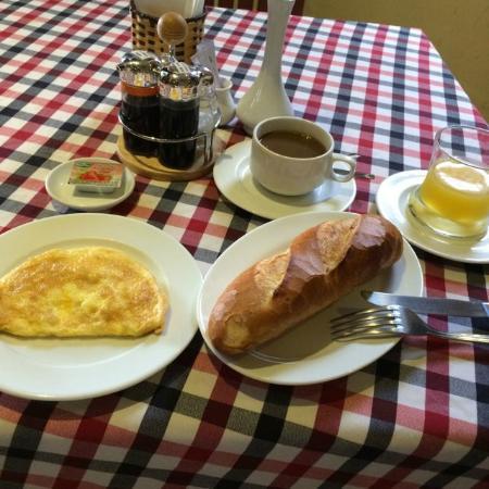 Thanh Thuy Hotel Dalat: オーダー制の朝食