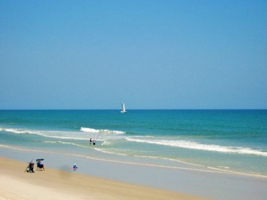 New Smyrna Beach, Floryda: Looking north