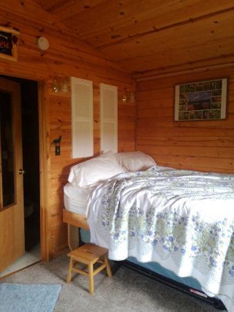 EarthSong Lodge - Denali's Natural Retreat: This step stool was my nemesis