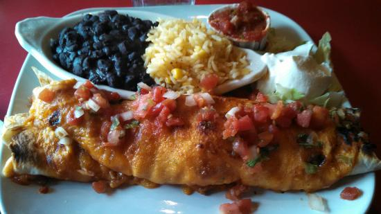 Chilli Peppers Restaurant and Bar: Seafood Enchilada