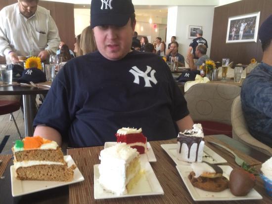 Audi Club Desserts Picture Of Audi Yankees Club Bronx