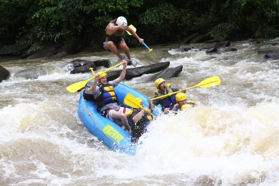 Extreme - Picture of Outdoor Adventure Rafting, Ocoee ...