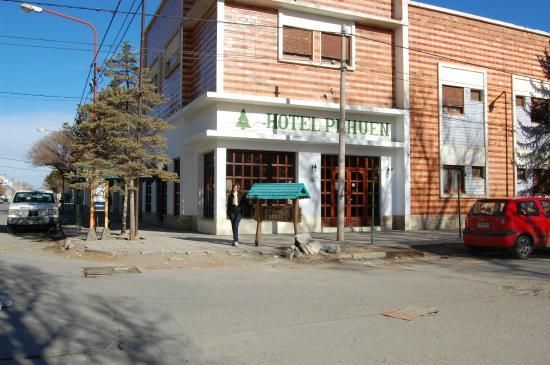 Zapala, Argentina: Vista del Hotel Pehuen