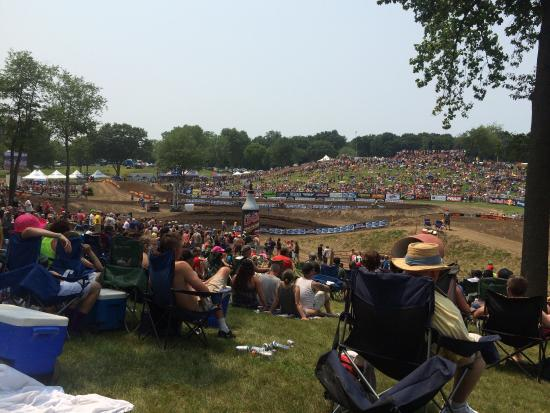 Buchanan, MI: Amazing track. Very well organized. Parking and traffic were handled exceptionally! Fun time