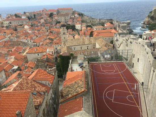 One of the best basketball court locations in the world for Cheapest way to make a basketball court