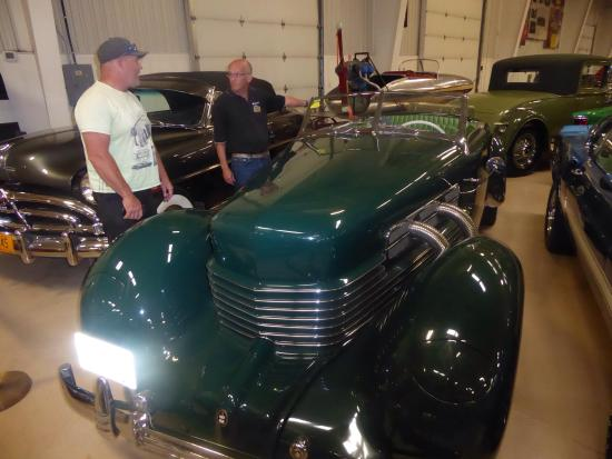 RM Classic Car Exhibit: Green Machine