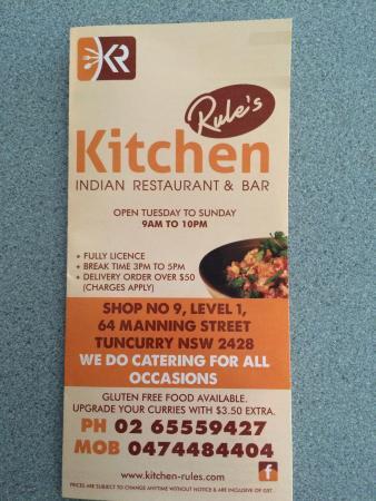 Kitchen Rules Indian Restaurant