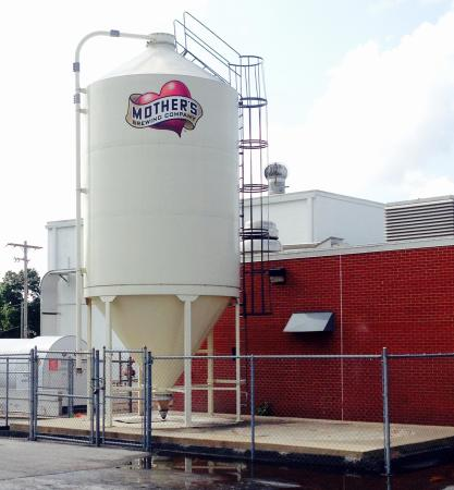 Mother's Brewing Company: The silo doubles as a sign!