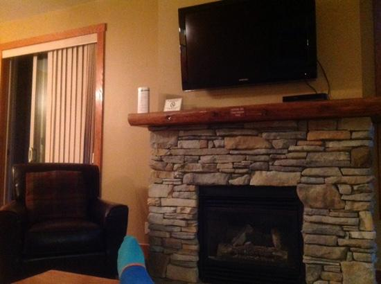 Panorama Springs: living room