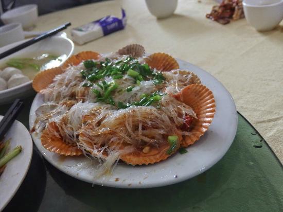 Haifeng County, China: 扇貝