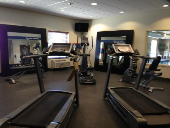 Hampton Inn Ellensburg: Fitness Center