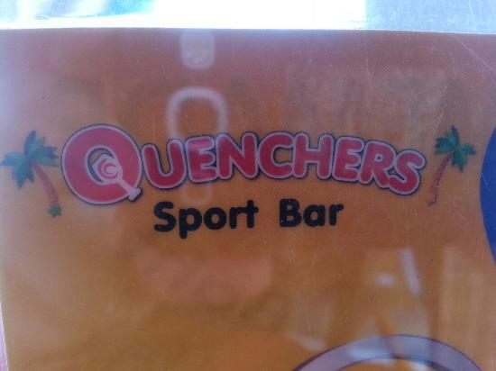 Quenchers Sports Bar, Restaurant and Guesthouse: Quenchers
