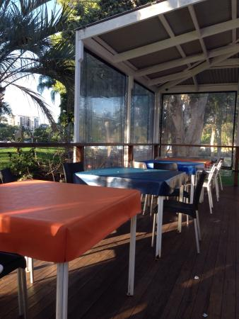 Selfish Fish N Chips: Outdoor dining