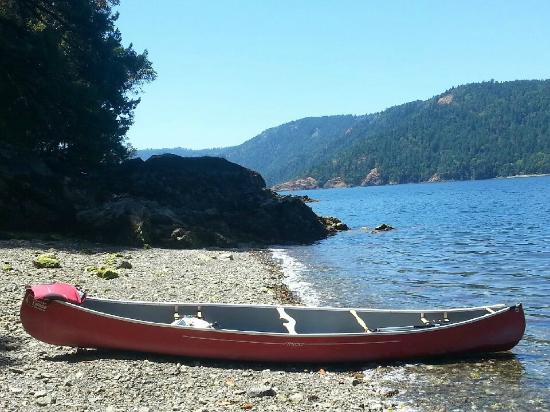 Central Saanich, Kanada: A pit stop for a picnic.