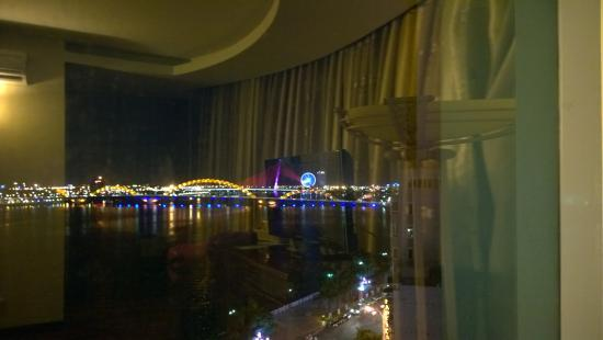 view from the 7th floor vip room with room reflected in the window rh tripadvisor com au