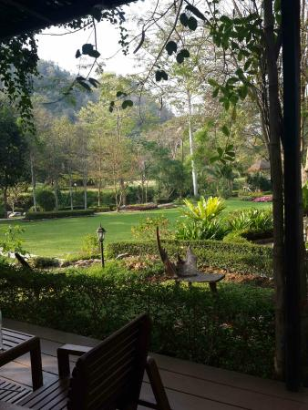 Moosi Yard Hometel Khaoyai: view from moosom room