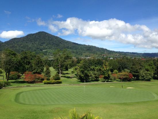 Handara Golf & Resort Bali: 18 Hole View
