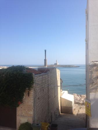 Hotel Punta San Francesco: Veduta dalla finestra