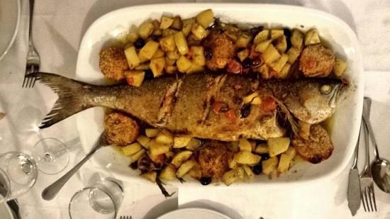 Ristorante El Gatt: pesce limone al forno