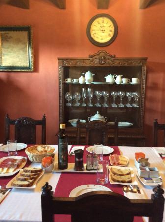 El Corral del Acebo: Desayuno