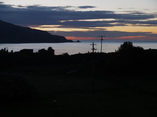 Portnablagh, Irlanda: Nightview from the house