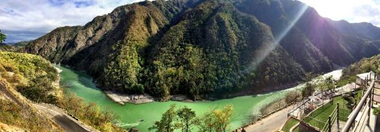 Singthali Village, India: A panoramic view of the River Ganga from Atali