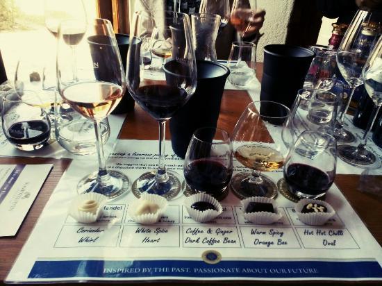 Blaauwklippen: Chocolate & wine tasting