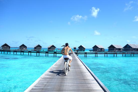 Maldives shangri la water villa