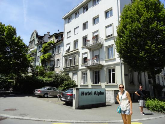 Hotel Alpha: beautiful old building in quiet area
