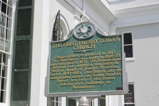 First Presbyterian Church, Natchez, MS, May 2015
