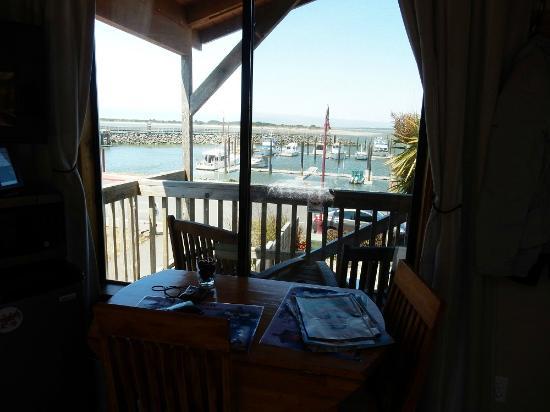Sea Star Guesthouse: Aussicht auf den Hafen