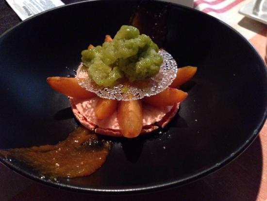 Merlu sur riz safran photo de carte sur table - Restaurant carte sur table cavaillon ...