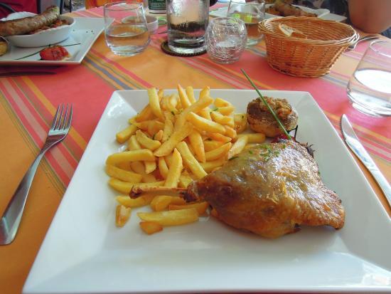 The Clos Restaurant : Cuisse de canard