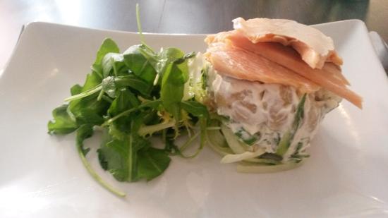 The Boot Room Restaurant: Smoked Trout, Horseradish Potato Salad