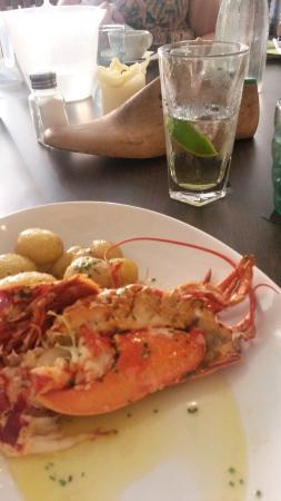 The Boot Room Restaurant: Lobster (from Specials Menu)