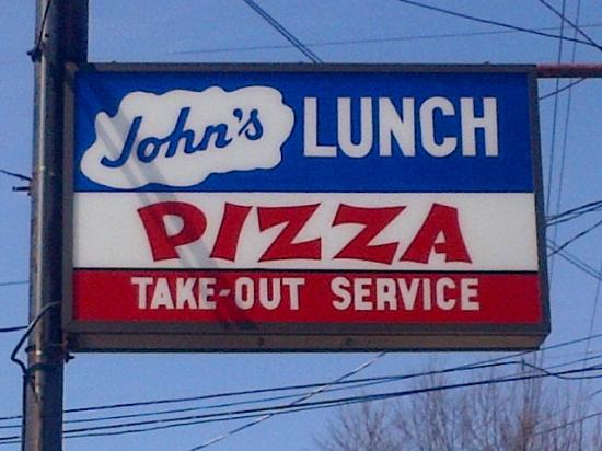 Top Of The Parking Lot Left Picture Of John S Lunch Dartmouth