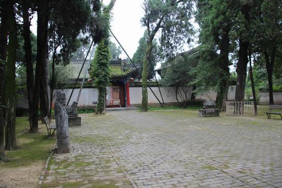 Yang County, China: 墓前に並ぶ石像