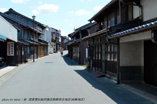 浜崎町家保存地区