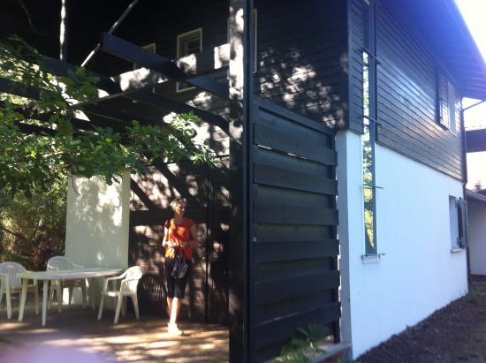 Résidence Goélia La Marina de Talaris : entrée bungalow