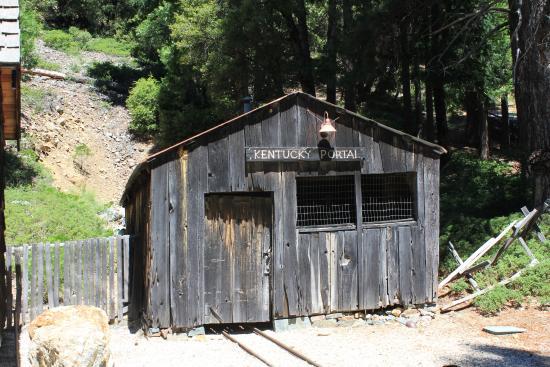 Kentucky Mine Museum: Kentucky mine portal